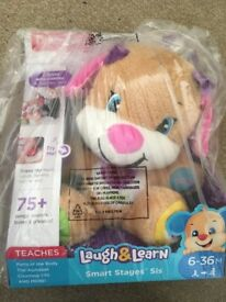 Fisher Price Laugh and Learn Puppy - New