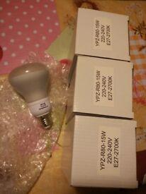 4 Reflectors (light bulbs) 💡 Energy saving