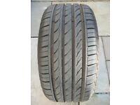 Part worn Tyre-DELENTI DH2. Size 245/40 R17 95W