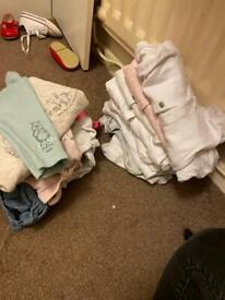 FREE baby clothes.