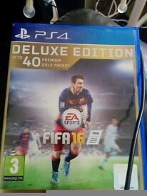 FIFA 16 ps4 excellent condition. Free football manager 2015 included
