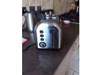 Morphy Richards Brushed Steel 2 Slice Toaster