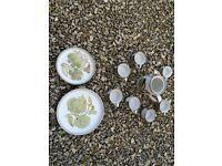 "10 x Vintage Denby Troubadour CUPS 10"" DINNER SIDE PLATES COFEE POT £1 to £3 per item pick & mix"