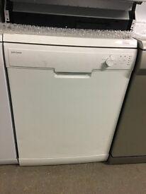John Lewis JLDWW1301 Freestanding Dishwasher, White