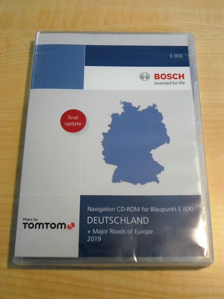 Navi Software Travelpilot E EX 2019 Deutschland RNS 300 Audi Ford VW Skoda