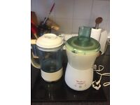 Moulinex smoothie and juice maker