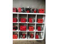 Oil burner boiler