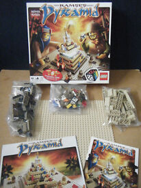Lego (Ramses Pyramid) game 3843. Excellent condition and complete.