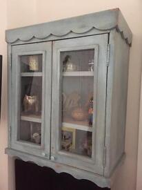 Shabby chic wall cupboard