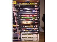 WWE DVD bundle, over 50 and some 3 DVD specials