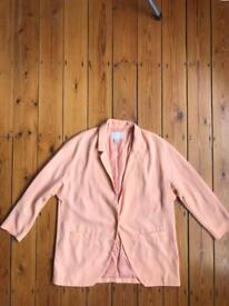 H&M peach blazer