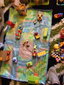 LOTS of Early Learning Centre Happyland toys!