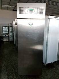 Foster single door upright fridge