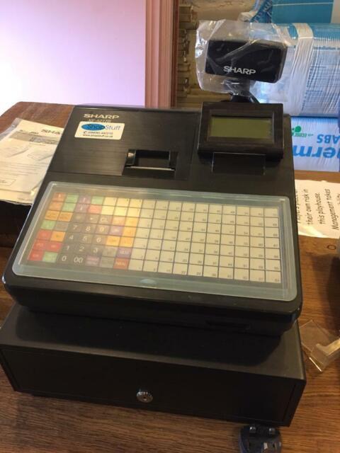 Sharp Cash Register XEA217B Black | in Greenwich, London | Gumtree