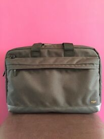 "Knomo Turin Bag for 15"" Laptop - Black RRP £75"
