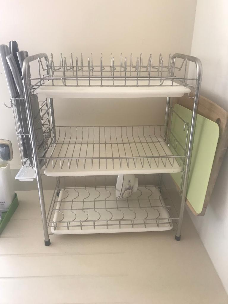 3 Tier Dish Drainer Stainless Steel In West End London Gumtree