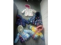 Baby girl jackets