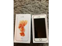 iPhone 6s Rose Gold, 64gb (Like New Condition!)
