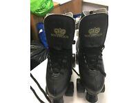 Sovereign Black Size 8 Roller Skates
