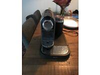 Krups Nespresso Machine with milk frother