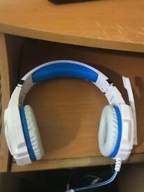 Headphone with mike for PS4 and computer