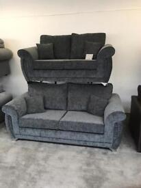 3 seater 2 seater Shannon Sofa NEW