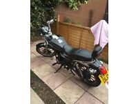 Lexmoto motorbike 125 full Mot 13 plate good condition