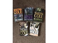 5 x Martina Cole Books