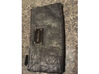 WALLET KENNETH COLE IN LEATHER ONLY 8!!! AMAZING CONDITIONS SIZE CM 14X24