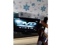 TV DVD COMBI 19 INCH