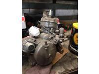 Derbi senda sm 50 gilera cpi aprillia rs complete engine running