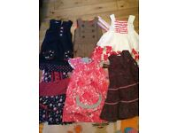 5 y size , 7 dresses ( Next, Bob the Bear, etc )