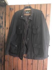 Men's wax Barbour coat size XXL