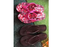 Size 5 wedge slippers