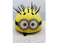 Minions 3d bicycle helmet
