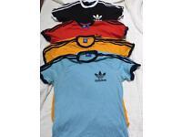 Adidas T-Shirts Size Small x4