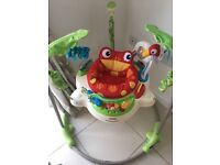 Fisher Price Rainforest Jumperoo like new