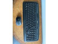 Wireless keyboard and mouse - Logitech