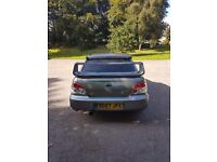 Subaru Impreza wrx sti type uk in urban grey