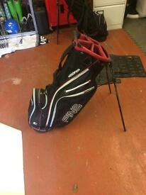 Ping hoofer stand bags