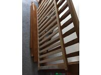 Free wood from broken cot bed
