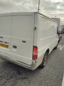 55 reg ford transit van swb with long mot next year start drive good cheap van ready to go good van