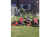 Lawnmowers good working order 45 to 80 each partex welcome