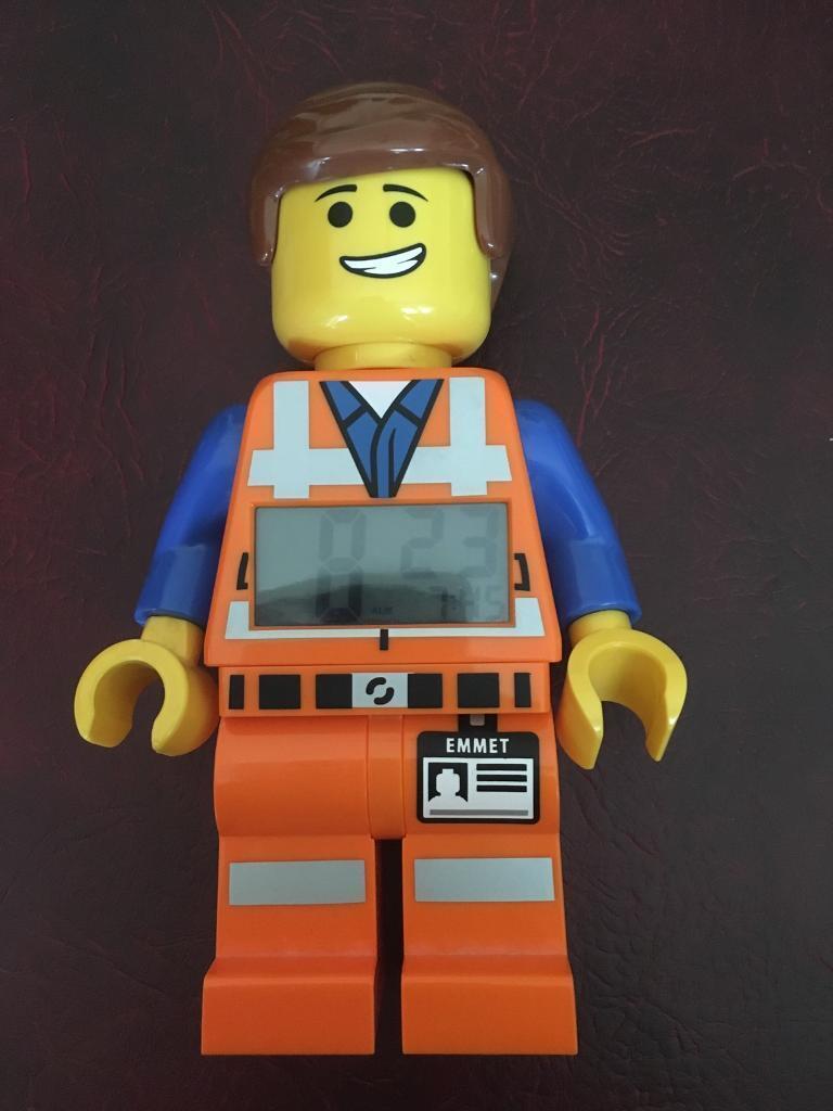 Emmett lego alarm clock