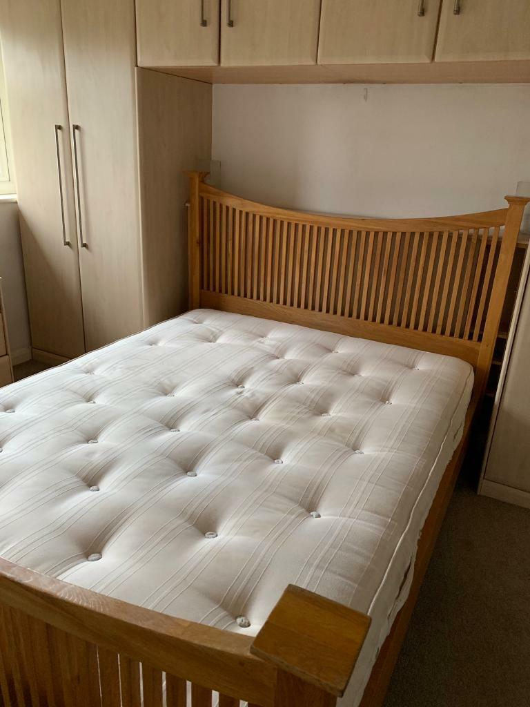 cheap for discount 33961 eccab King size bed frame and mattress | in Redhill, Surrey | Gumtree
