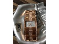 Dolce &Gabbana Ladies Authentic Watch purchased from Nigel O Hara Jewelers Ireland