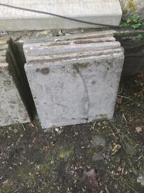 2x2 patio slabs £2.00 each