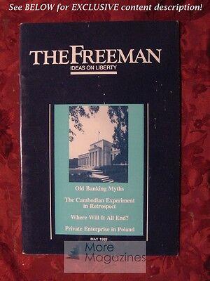 The Freeman May 1989 Morgan O Reynolds Scott C Matthew James L Payne Lloyd Cohen