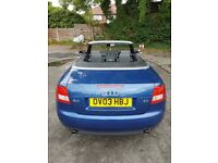 AUDI A4 3.0 V6 CONVERTIBLE 2003 - AUTOMATIC - FULL SERVICE HISTORY - MOT - TIMING BELT - DRIVES MINT