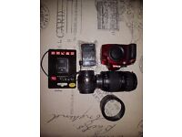 Nikon D3200 with a bunch of accessories including lenses *Cash Only & No Postage*